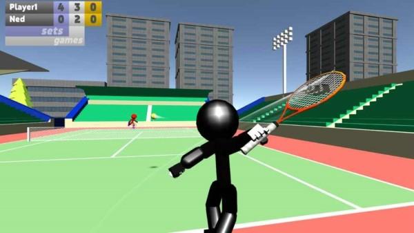火柴人3D网球 V1.03 安卓中文版