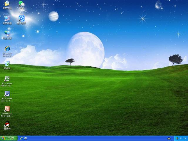 惠普XP安装版